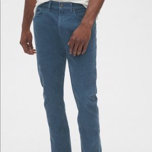 Gap 1969 light blue corduroy slim fit pants 38x32